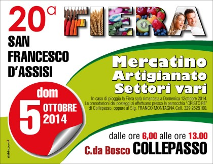 VOL FIERA SAN FRANCESCO 2014